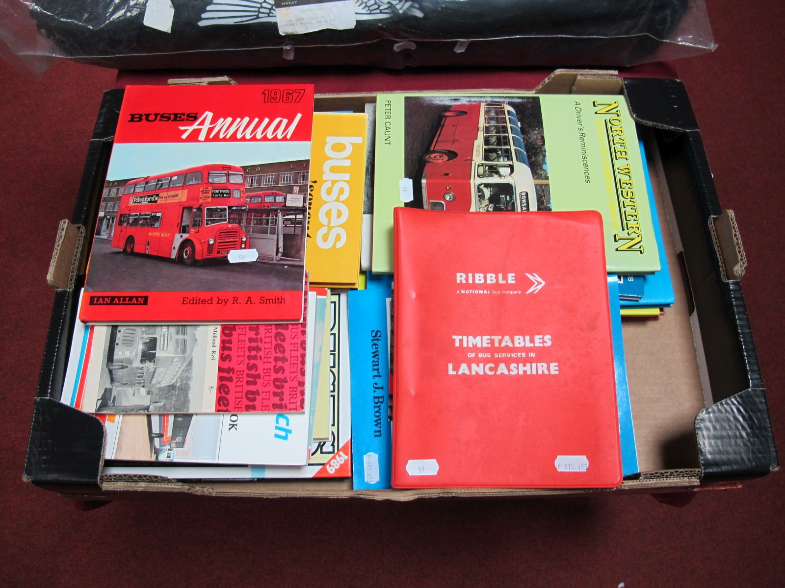Lot 59 - An Interesting Collection of Bus and Tram Literature, including National Express Handbook, 1995