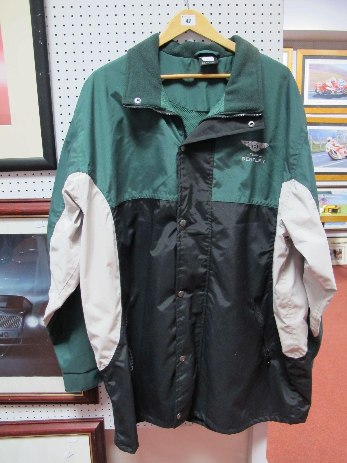Lot 47 - A Team Bentley Men's Jacket, size XXL.