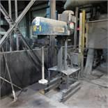 Shar Model D-150-SNPB 15 Hp Bench Type Disperser, Pneumatic Lift