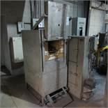 "Ferro Enamels Model HT-2 10 KW Oven, 220 V, 3 PH, Apx. 11"" X 10"" Opening with Ferro Dryer"