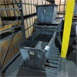(4) Steel Troughs