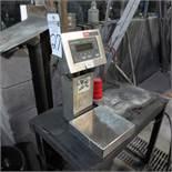 "Weigh-Tronix Model QC-3265 Scale, S/N 026434, 8 1/2"" X 8 1/2"" Platform"