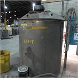 (Est) 1,200 Gallon Stainless Steel Mixing Tank, (Est) 6' Dia. x 6' High, Top Hinged Cover, Bridge Ty