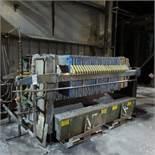 JWI 800mm 26 Plate Filter Press