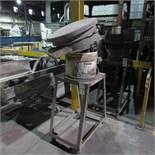 Sweco Model ZS24544 Vibratory Bowl, 1200 RPM, 440V, 3 Ph, Apx 2' open Top
