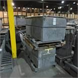 (5) Steel Troughs