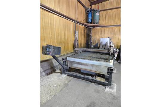 MG Industries Model Silver Eagle CNC Plasma Cutting Table with
