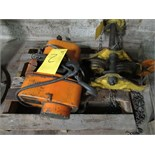 JET 1BSPS 1-TON 440/550V ELECTRIC HOIST W/TROLLEY