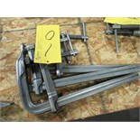 "LOT 3 ASST. BESSEY 14"" BAR CLAMPS"