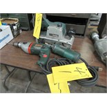 LOT 3 ASST. MAKITA 9403 100X610MM BELT SANDER, METABO SBE750 HAMMER DRILL, BOSCH 1210 DIE GRINDER