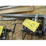 "LOT 3 ASST. BESSEY 22"" BAR CLAMPS"