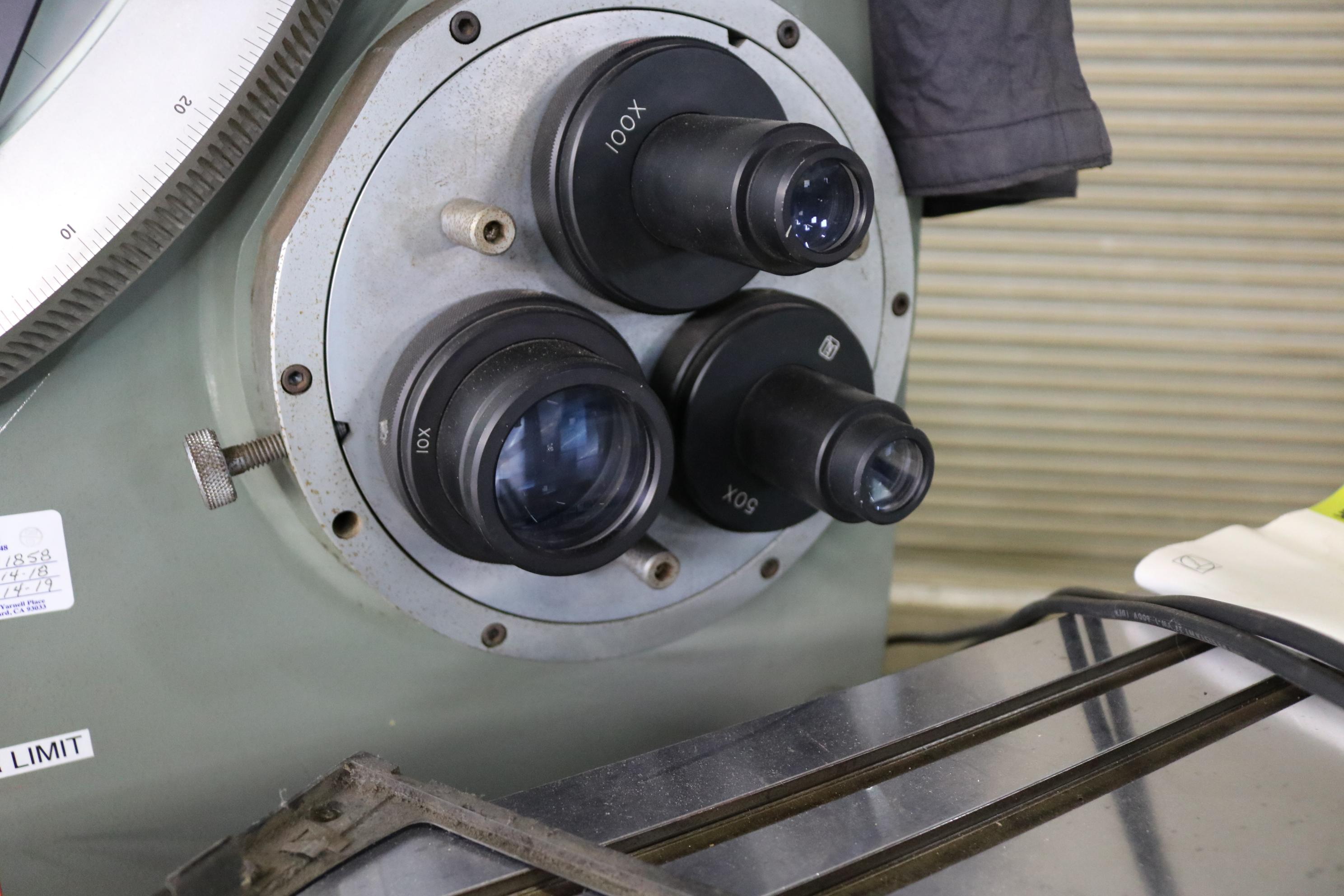 Lot 15 - JONES & LAMPSON OPTICAL COMPARATOR MEASURING MACHINE, MODEL CLASSIC 120, HEIDENHAIN QUADRA-CHECK