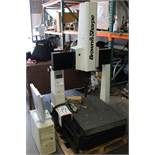 "1997 BROWN & SHARPE CMM, MODEL MICRO VAL 454, 22"" X 30"" ENVELOPE, RENISHAW TOUCH PROBE, PC DEMIS"