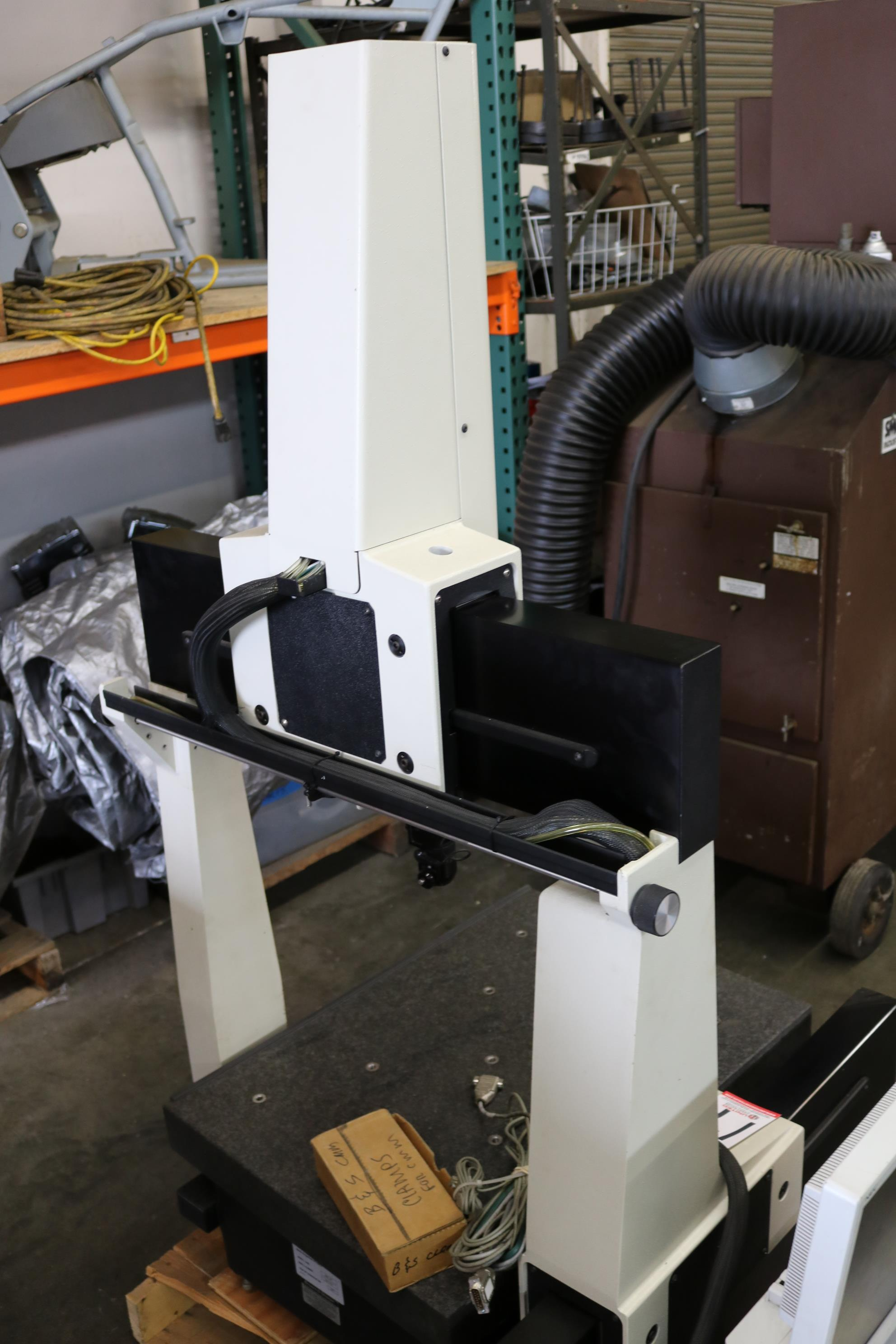 "Lot 17 - 1997 BROWN & SHARPE CMM, MODEL MICRO VAL 454, 22"" X 30"" ENVELOPE, RENISHAW TOUCH PROBE, PC DEMIS"