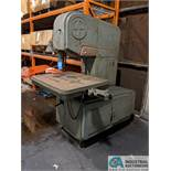 "20"" DOALL VERTICAL BAND SAW - PARTS MACHINE"