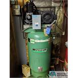 7-1/2 HP SPEEDAIRE VERTICAL TANK AIR COMPRESSOR ***DELAY REMOVAL - PICK UP 3-31-2020***