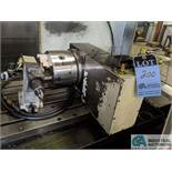 HAAS 4TH AXIS INDEXER WITH TAILSTOCK AND RISERS