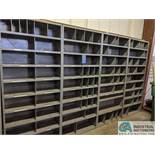 """SECTIONS 12"""" X 36' STEEL SHELVING"""