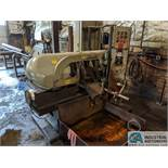 "12"" X 14"" WELLSAW HORIZONTAL BAND SAW, AUTO-INFEED AND CLAMPING, INCLUDES 10"" WIDE CONVEYOR"