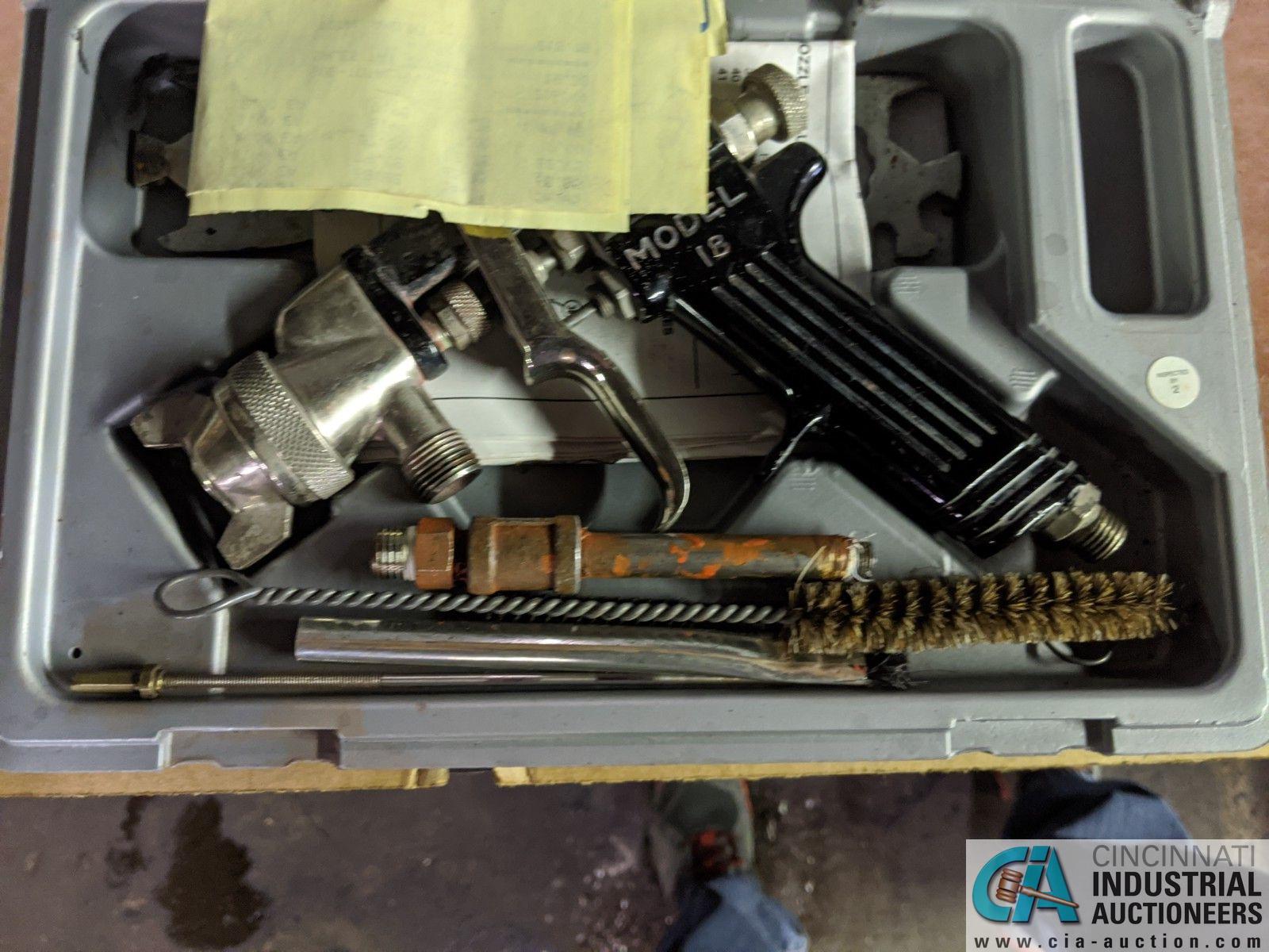 (LOT) 2M TK-6B CIRCUIT TRACER KIT AND BINKS MODEL 95 SPRAY GUN - Image 2 of 2