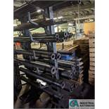 """12"""" ARM DOUBLE SIDED CAST IRON CANTILEVER RACK"""