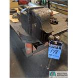 """48"""" X 96"""" HD STEEL WELDING TABLE WITH 6"""" VISE - TABLE TOP 1-1/2"""" THICK"""
