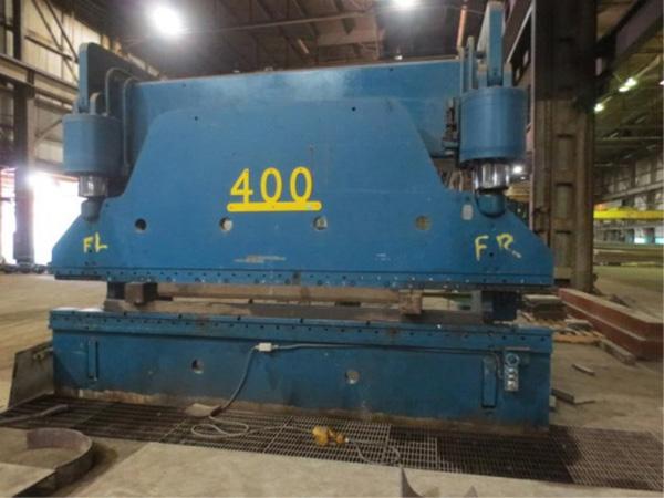 Cincinnati Hydraulic Press Brake | 400-Ton x 16', Mdl: 400H x 12, S/N: 36959, Located In: