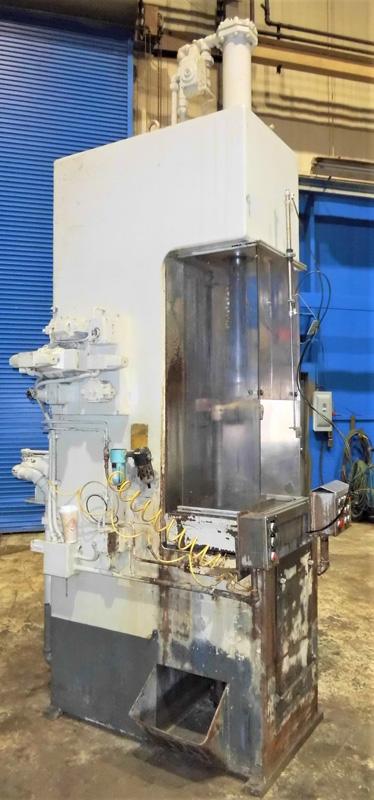 "Stroke Colonial PB-6-36 Vertical Hydraulic Broaching Machine   6-Ton x 36"" , Mdl: PB-6-36, S/N: 9- - Image 3 of 19"