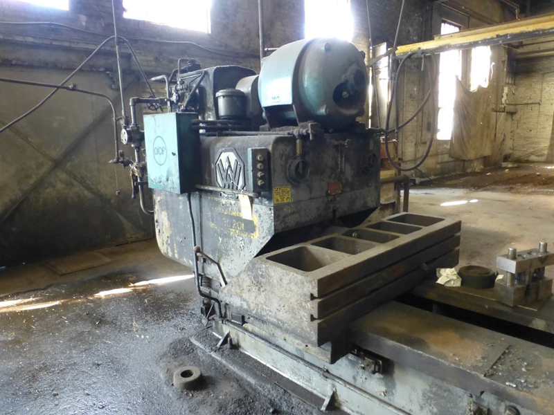 "Williams & White 100 Ton Hydraulic Bulldozer | 12"" x 60"" Cross Head; S/N: 0-3154, Located In: - Image 5 of 16"