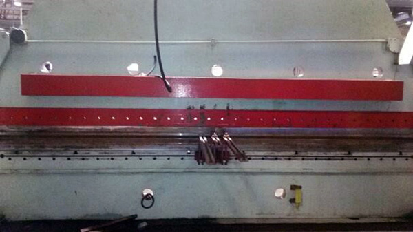 Cincinnati Hydraulic Press Brake | 500 Ton x 20', Mdl: 500H, S/N: 37853 - 8276P - Image 5 of 12
