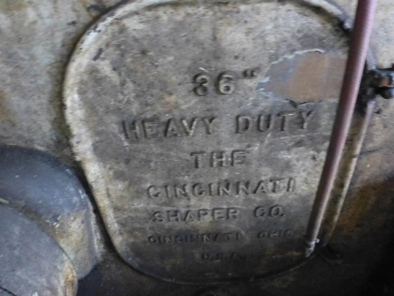 "Cincinnati 36"" Heavy Duty Shaper, Located In: Huntington, West Virginia - 8834P - Image 10 of 10"