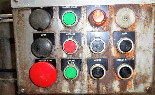 "Stroke Colonial PB-6-36 Vertical Hydraulic Broaching Machine   6-Ton x 36"" , Mdl: PB-6-36, S/N: 9- - Image 13 of 19"