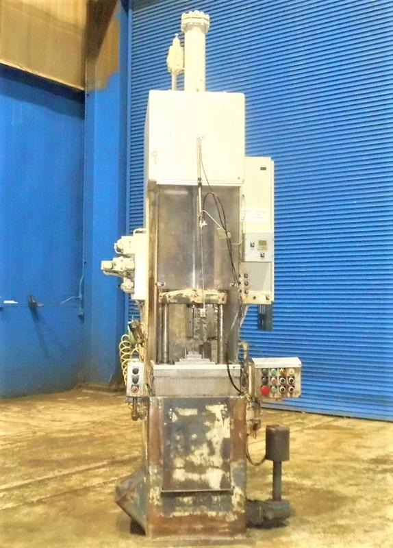 "Stroke Colonial PB-6-36 Vertical Hydraulic Broaching Machine   6-Ton x 36"" , Mdl: PB-6-36, S/N: 9- - Image 2 of 19"