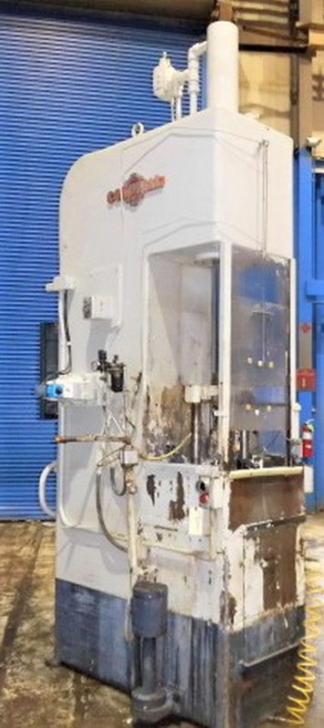 "Stroke Colonial VBS-10-36 Vertical Hydraulic Broaching Machine | 10-Ton x 36"" , Mdl: PB10-36 , S/ - Image 3 of 17"