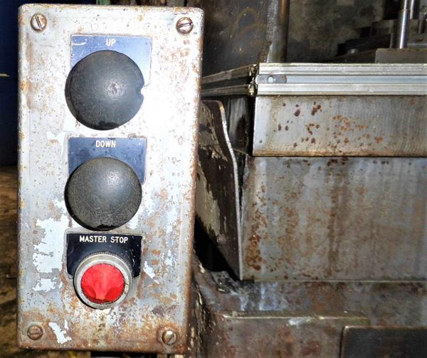 "Stroke Colonial PB-6-36 Vertical Hydraulic Broaching Machine   6-Ton x 36"" , Mdl: PB-6-36, S/N: 9- - Image 14 of 19"