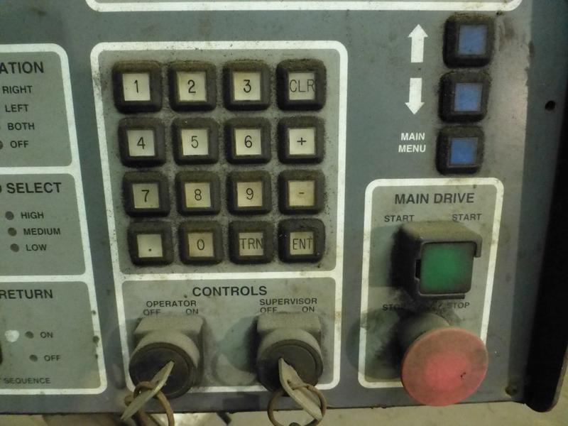 "Cincinnati 350-Ton x 12' Hydraulic Press Brake | Model 350 CBII; 14' LOA - 12' 6"" Between - Image 12 of 17"