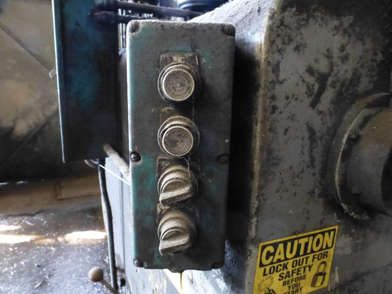 "Williams & White 100 Ton Hydraulic Bulldozer | 12"" x 60"" Cross Head; S/N: 0-3154, Located In: - Image 9 of 16"
