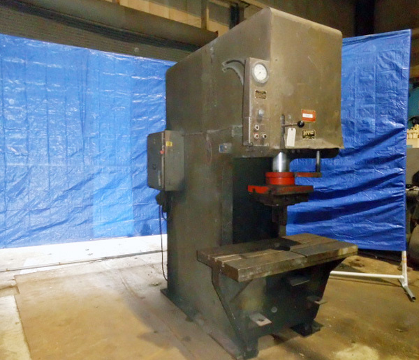 "HTC Hydraulic C Frame Press | 75 Ton x 48"" x 24"", Mdl: 200 CF, S/N: 1072C031 - 7838P - Image 4 of 6"