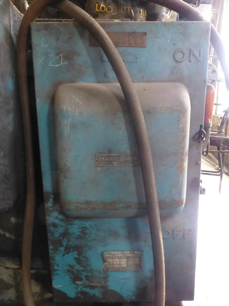 "Williams & White 100 Ton Hydraulic Bulldozer | 12"" x 60"" Cross Head; S/N: 0-3154, Located In: - Image 13 of 16"