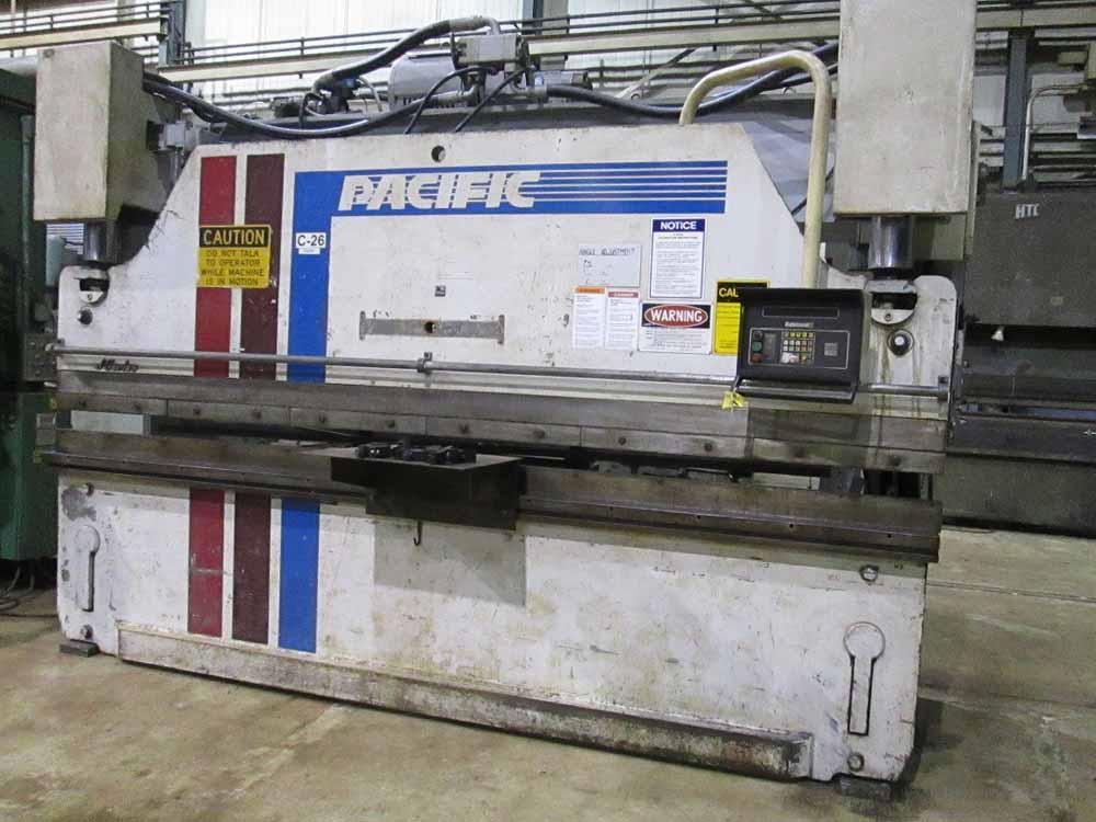 1986 Pacific CNC 2 Axis Hydraulic Press Brake | 110-Ton x 12', Mdl: J110-12, S/N: 9999 - 6426P