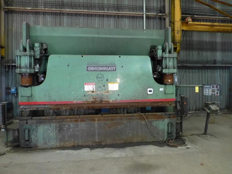 "Cincinnati 350-Ton x 12' Hydraulic Press Brake | Model 350 CBII; 14' LOA - 12' 6"" Between"