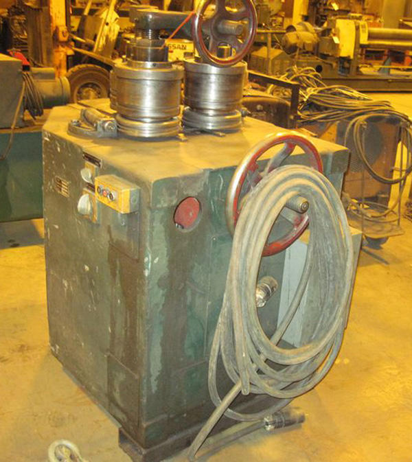 """Herkules Hydraulic Angle Roll   2 1/2"""" x 2 1/2"""" x 1/4"""", Mdl: 80239N, S/N: 74075 - 6469P - Image 2 of 4"""