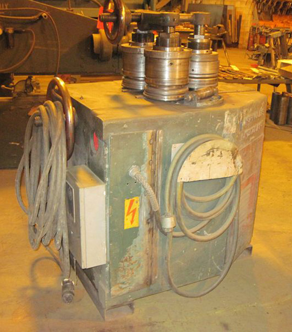 """Herkules Hydraulic Angle Roll   2 1/2"""" x 2 1/2"""" x 1/4"""", Mdl: 80239N, S/N: 74075 - 6469P - Image 3 of 4"""