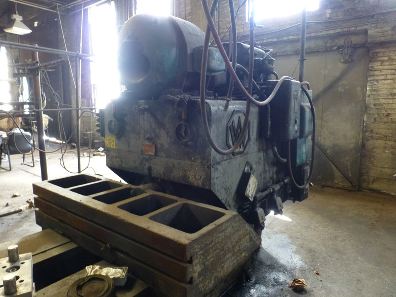 "Williams & White 100 Ton Hydraulic Bulldozer | 12"" x 60"" Cross Head; S/N: 0-3154, Located In: - Image 3 of 16"