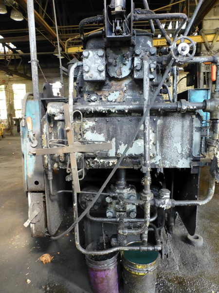 "Williams & White 100 Ton Hydraulic Bulldozer | 12"" x 60"" Cross Head; S/N: 0-3154, Located In: - Image 12 of 16"