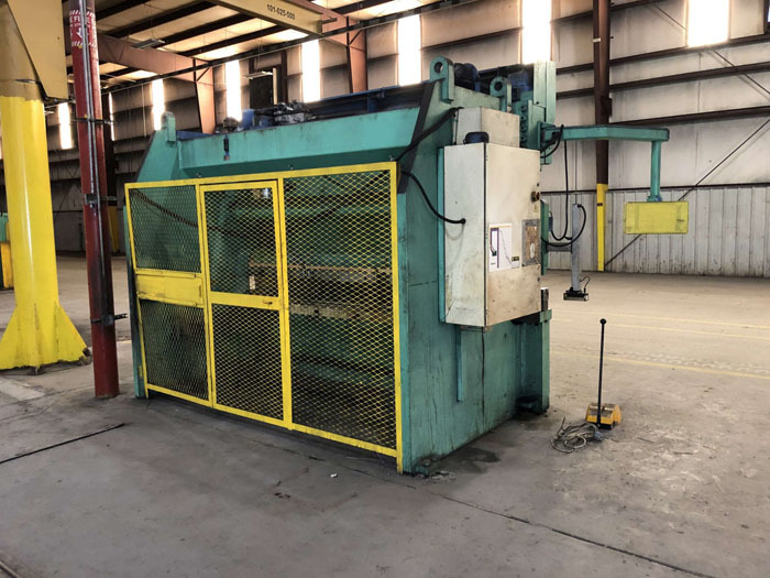 1998 Haco CNC Hydraulic Press Brake | 300 Ton x 12', Mdl: PPM36300, S/N: 58738, Located In: - Image 13 of 20