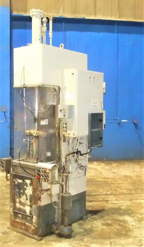 "Stroke Colonial PB-6-36 Vertical Hydraulic Broaching Machine   6-Ton x 36"" , Mdl: PB-6-36, S/N: 9-"