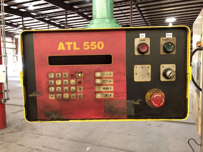 1998 Haco CNC Hydraulic Press Brake | 300 Ton x 12', Mdl: PPM36300, S/N: 58738, Located In: - Image 4 of 20