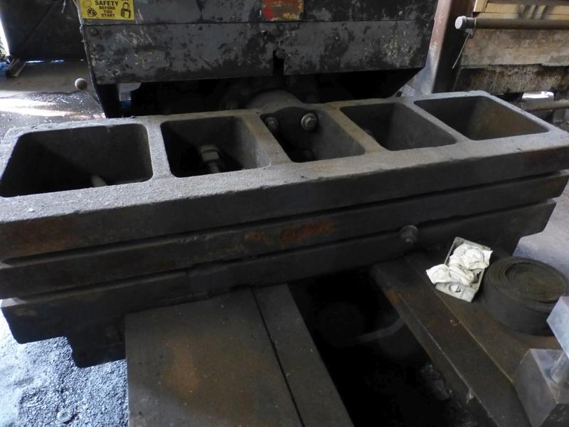 "Williams & White 100 Ton Hydraulic Bulldozer | 12"" x 60"" Cross Head; S/N: 0-3154, Located In: - Image 7 of 16"