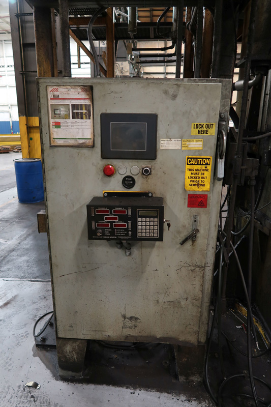 "1979 Erie Straight Side Hydraulic Press | 1,000-Ton x 42"" x 42"", Mdl: #1000, S/N: 29-1369 - 8373P - Image 3 of 9"